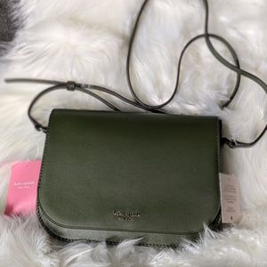NEW Kate Spade Olive Green Crossbody Purse - Bag